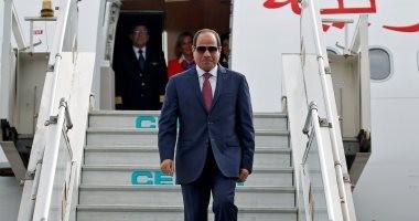 الرئيس السيسي يصل فرنسا في زيارة رسمية لمدة 3 أيام
