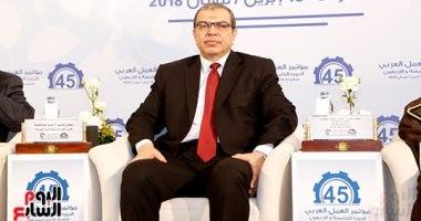 """""""سعفان"""" يفتتح مؤتمر الاتحاد العربى لعمال الغزل والنسيج.. غدا"""