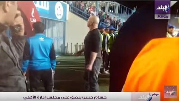 سب وقذف وبصق.. حسام حسن في 3 مشاهد مشينة عقب الخسارة من الأهلي.. فيديو