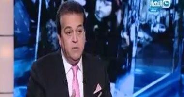 خالد عبد الغفار: لدينا بطالة كبيرة والسوق متعطش لخريجى التعليم التكنولوجي