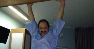 """6 فيديوهات تؤكد أن عفريت """"الفيل الأزرق"""" لسه داخل خالد الصاوى"""