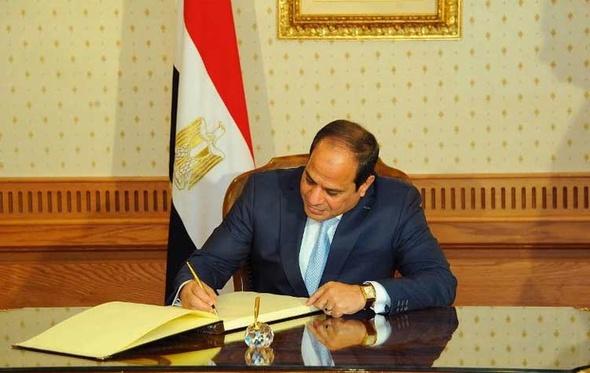 السيسي يصدر قرارًا جمهوريًا بتعديل تنظيم مجلس الدفاع الوطني