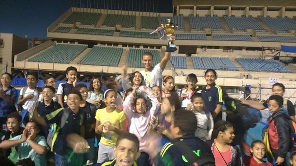 """بالصور..""""شباب الجزيرة"""" يفوز بالمركز الأول بمهرجان البراعم للغوص والسباحه"""