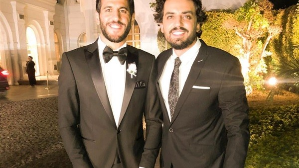 أول صورة من حفل زفاف مروان محسن .. شاهد