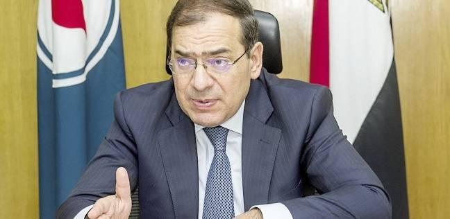 الملا: بدء إنتاج الغاز من مشروع المرحلة 9 ب بالبحر المتوسط في أكتوبر