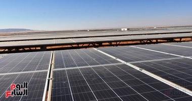 صور.. 20 معلومة عن أكبر محطة طاقة شمسية بأسوان قبل ساعات من افتتاحها