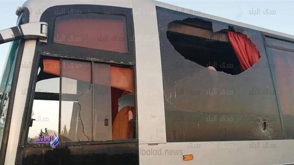نهائي أفريقيا.. جماهير الترجي التونسي تعتدي على حافلة الوداد المغربي ..صور