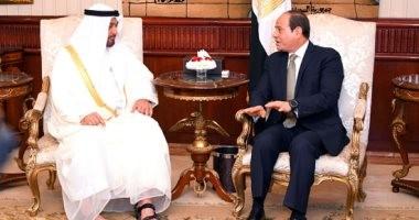 السيسي: العلاقة بين مصر والإمارات نموذجاً مثالياً للتعاون البنّاء