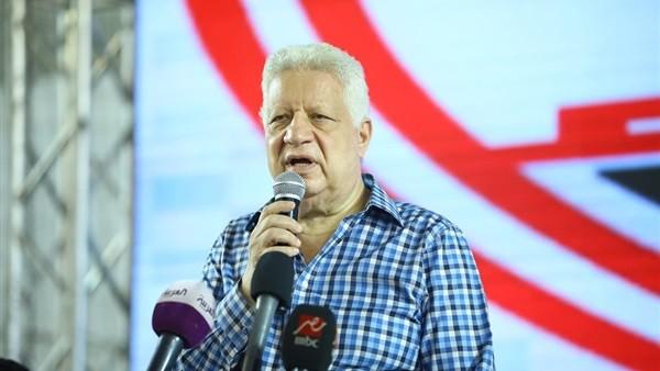 بسبب قناة الأهلي.. مرتضى منصور يهاجم سمير عثمان