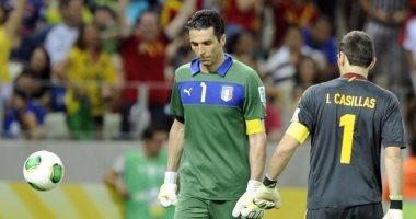 بالفيديو.. بوفون يعادل رقم كاسياس فى تعادل إيطاليا الودى مع ألمانيا