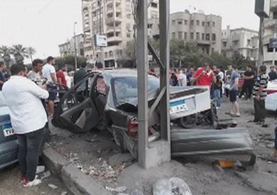 نائب محافظ القاهرة: إصابة واحدة ولا وفيات في حادث ترام مصر الجديدة