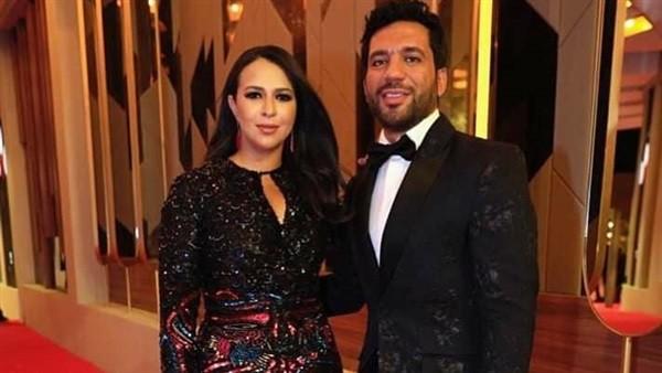 إشادة بزوجته.. لماذا سخر جمهور مهرجان الجونة السينمائي من حسن الرداد.. صور