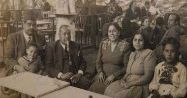 فى ذكرى ميلاد الشاويش عطية.. شاهد صور نادرة لعائلة رياض القصبجى