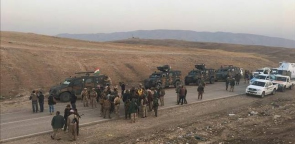 """قوات البيشمركة تبدأ عملية تطهير بعشيقة من """"داعش"""""""