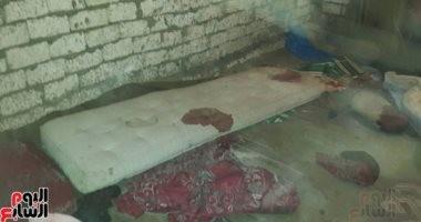 ننشر أول صورة من منزل زوجين قتلا بأعيرة نارية داخل منزلهما بمنيا القمح
