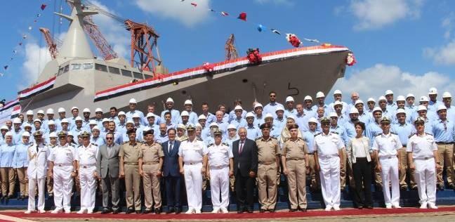 البحرية المصرية والباكستانية تنفذان تدريبا عابرا بالبحر الأبيض المتوسط