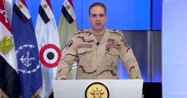 بعد قليل.. البيان الرابع عشر للقوات المسلحة بشأن العملية الشاملة سيناء 2018