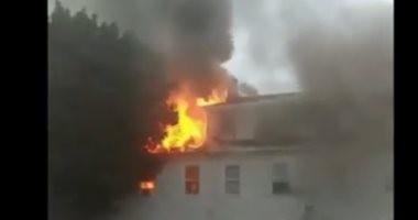 الداخلية: انفجار اسطوانة بوتاجاز بمحلين بالمحلة وانهيار جزئي دون إصابات