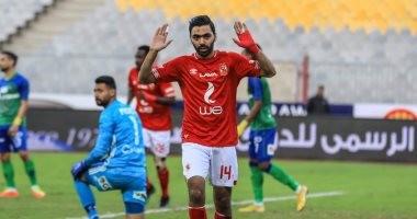 شاهد.. غضب حسين الشحات بعد استبداله أمام الاتحاد