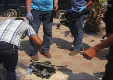 تفكيك قنبلة هيكلية عثر عليها أمام محطة مترو شبرا الخيمة