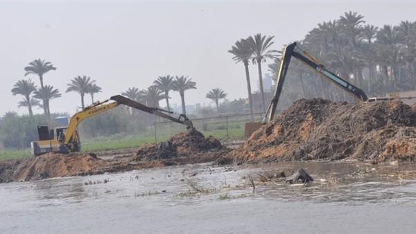 الري: إزالة 969 حالة تعد على نهر النيل والمجاري المائية خلال أسبوع