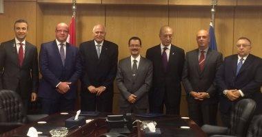 """""""اقتصادية قناة السويس"""" توقع اتفاقية تعاون مع بنك SAIB"""