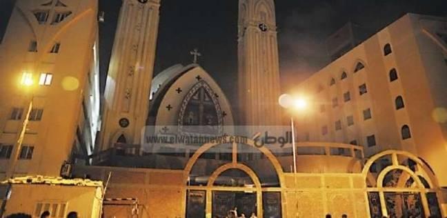 """""""عذراء مسطرد"""" تواصل الاحتفال رغم محاولة تفجير.. المسيح هنا لا للإرهاب"""