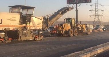 إعادة فتح شارع شبرا بعد انتهاء أعمال إنشاء كوبرى لمحور روض الفرج