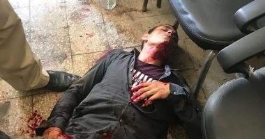 صور.. حبس عامل طعن شابًا بسكين داخل نيابة كفر الدوار لاتهامه باغتصاب ابنته