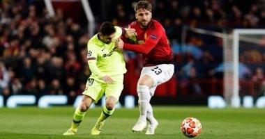 برشلونة يحقق فوزا مثيرا على مانشستر يونايتد ويقترب من نصف نهائي دورى الأبطال