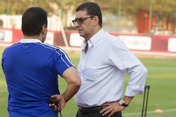 طاهر يحضر أول تدريب للأهلي استعدادًا للجيش