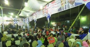 عائلات ملوى بالمنيا تنظم مؤتمرا جماهيريا لدعم السيسى فى الانتخابات الرئاسية