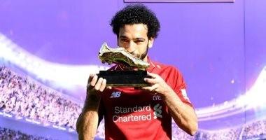 محمد صلاح يتسلم جائزة جديدة فى دبى اليوم