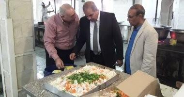 صور.. رئيس جامعة الأزهر يتفقد المدينة الجامعية للطلاب بمدينة نصر