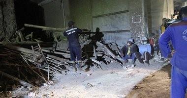 """وصول لجنة من """"التضامن"""" لحصر الأسر المتضررة من انهيار عقار السيدة زينب"""