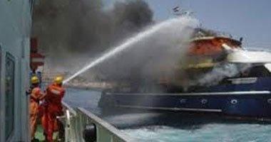 إصابة 6 إثر انفجار أسطوانة غاز بمركب نقل ركاب بين الدقهلية وبور سعيد