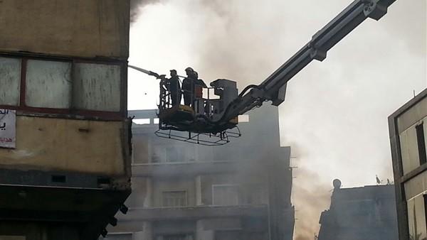 السيطرة على حريق في مصنع الغزل والنسيج بكفرالدوار