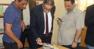 أشرف عامر يتفقد بيت ثقافة الجرابعة ببورسعيد تمهيدا لافتتاحه قريبا