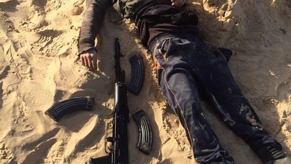 تصفية إرهابي قبل تنفيذ عمليات ضد الجيش والشرطة بالدقهلية