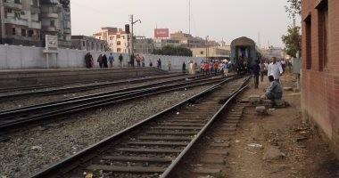 السكة الحديد: لا صحة لنشوب حريق فى قطار بخط المناشى والحركة منتظمة