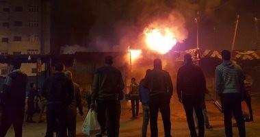 السيطرة على حريق محدود نشب فى قاطرة بميناء الإسكندرية
