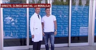 هازارد يصل مدريد للخضوع للكشف الطبي.. فيديو