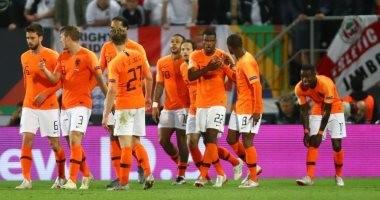 هولندا تقهر إنجلترا بثلاثية وتواجه البرتغال فى نهائى دورى الأمم الأوروبية