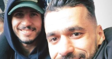 أحمد حجازى وعبد الله السعيد يتابعان قمة توتنهام ضد أرسنال بملعب ويمبلى