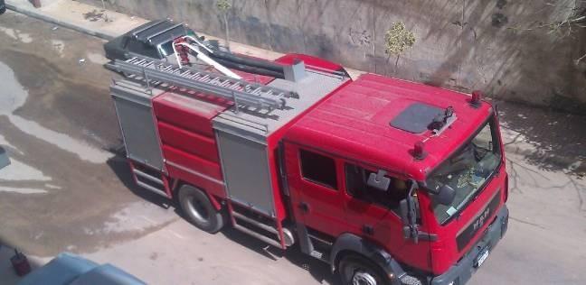 السيطرة على حريق مصنع مراتب في الخانكة