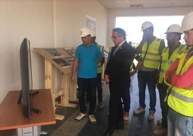 بالصور.. وزير الآثار يتفقد متحف شرم الشيخ القومي