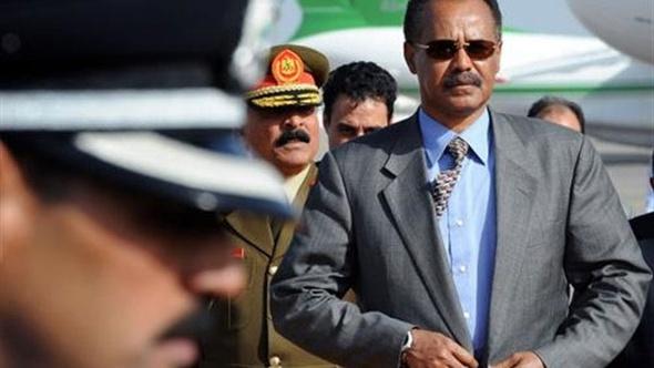 الرئيس السيسي يستقبل نظيره الأريتري في الاتحادية
