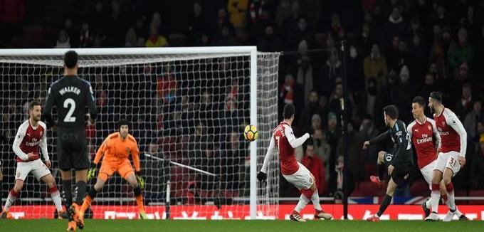 الدوري الانجليزي.. أرسنال 0-1 مانشستر سيتي.. إبداع كامل في الهدف