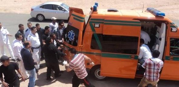 عاجل| 3 طلاب في حالة خطرة بين مصابي أتوبيس طريق مصر السويس