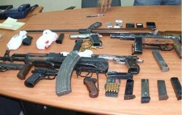 ضبط 12 قضية سلاح ومخدرات بحملة أمنية فى الساحل